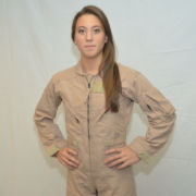 Difference between men and women Nomex flight suit
